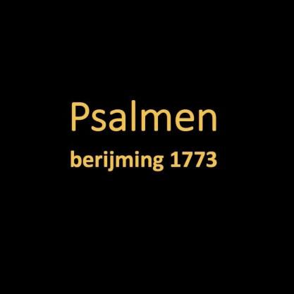 Psalmen Oude Berijming 1773 (gratis)