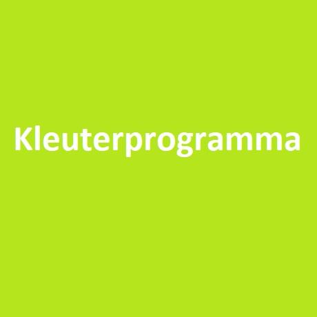 Kleuterprogramma