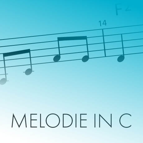 Melodie in C
