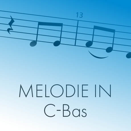Melodie in C-bas