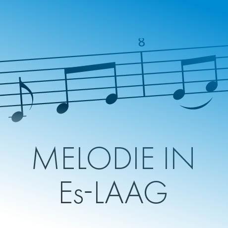 Melodie in Es-laag