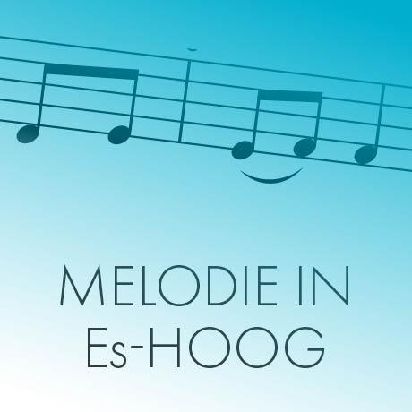 Melodie in Es-hoog